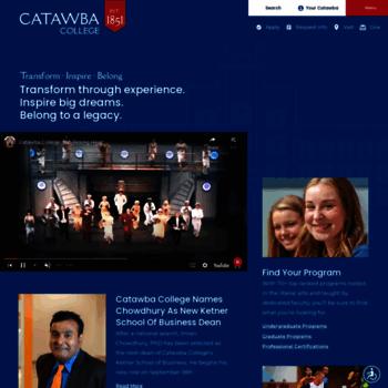 Catawba.edu thumbnail