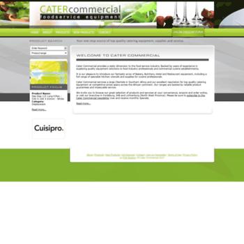 Catercommercial.co.za thumbnail