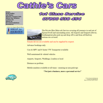 Cathiescars.co.uk thumbnail