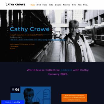 Cathycrowe.ca thumbnail