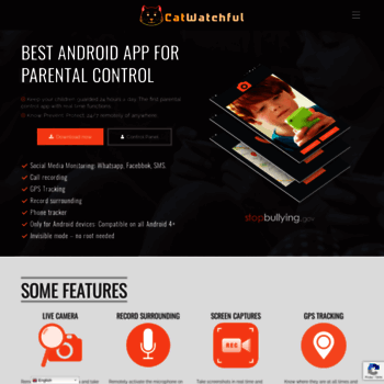 catwatchful com at WI  CatWatchful - The best Android App