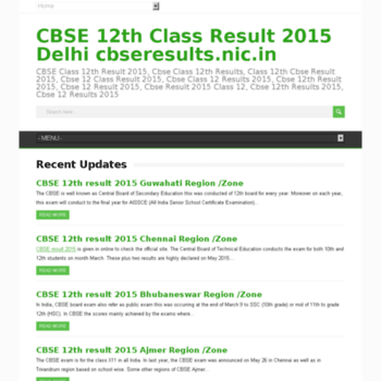 Cbse12thclassresult2015.in thumbnail