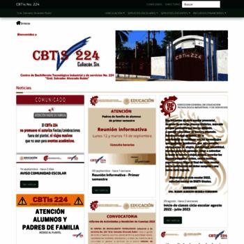 Cbtis224.edu.mx thumbnail