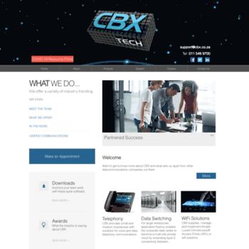 Cbx.co.za thumbnail