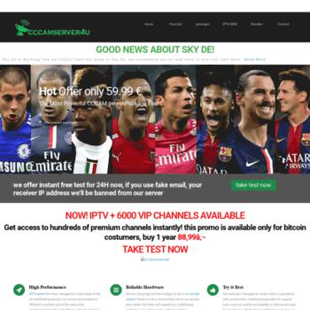 cccamserver4u com at WI  CCCAMSERVER4u | Free Cline , cccam