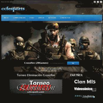 Ccfesports.com thumbnail