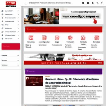 Ccoo-servicios.es thumbnail