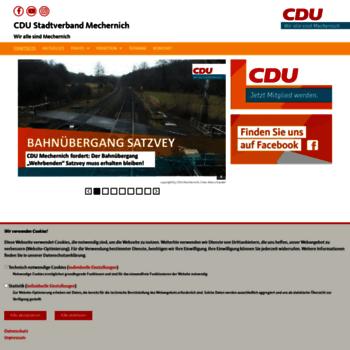 Cdu-mechernich.de thumbnail