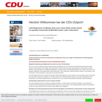 Cdu-zuelpich.de thumbnail