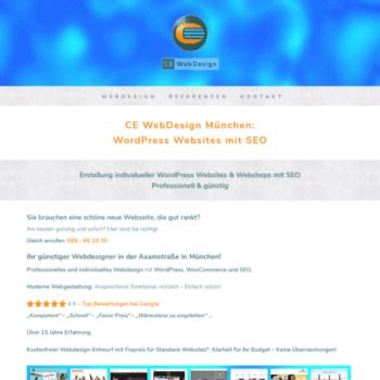 Ce-webdesign.de thumbnail