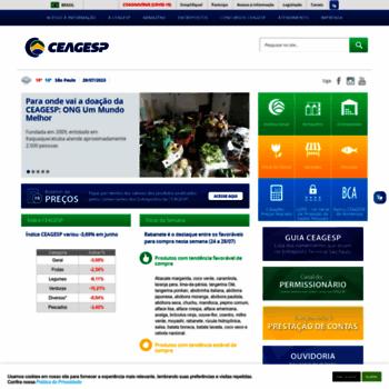 Ceagesp.gov.br thumbnail