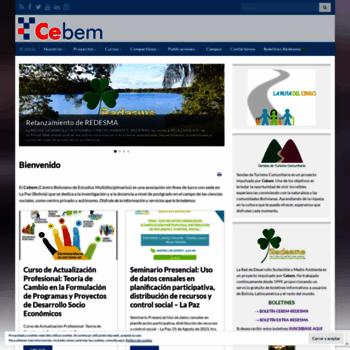 Cebem.org thumbnail