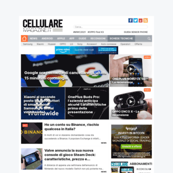 Cellularemagazine.it thumbnail