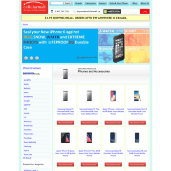 Cellularmall.ca thumbnail