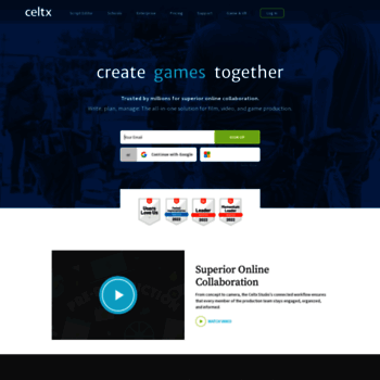 celtx com at WI  Celtx - Free Scriptwriting & All-In-One