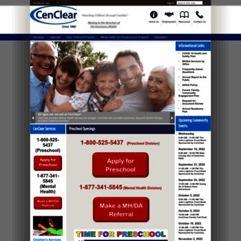 Cenclear.org thumbnail