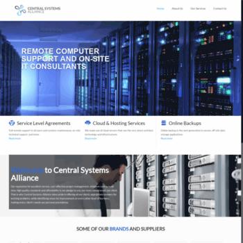 Centralsystems.co.za thumbnail
