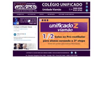 Centrodeensinounificado.com.br thumbnail