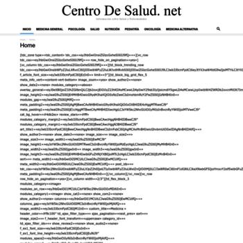 Centrodesalud.net thumbnail