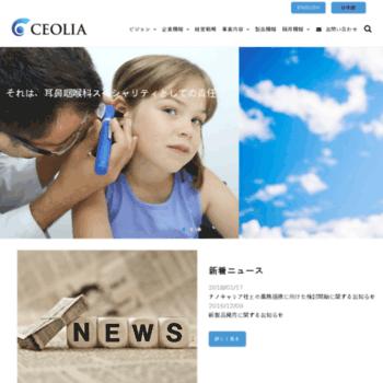 Ceolia.co.jp thumbnail