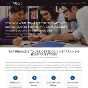 certmagic net at WI  CertMagic - Real Exam Prep Questions