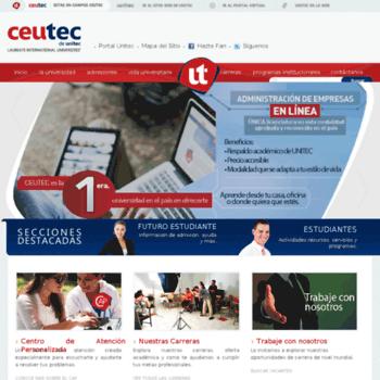 Ceutec.unitec.edu thumbnail