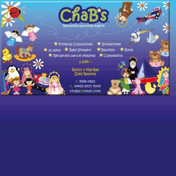 Chabs.com.mx thumbnail