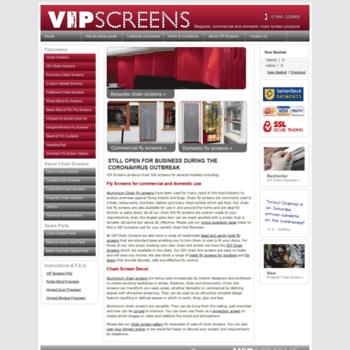 Chainscreens.co.uk thumbnail