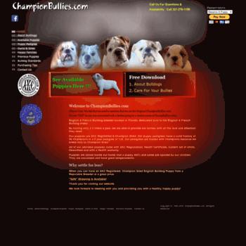 Championbullies.com thumbnail