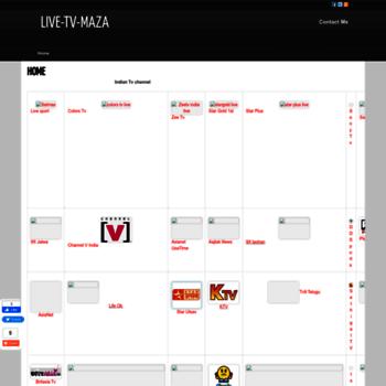 Channel-live-tv-maza.blogspot.com thumbnail