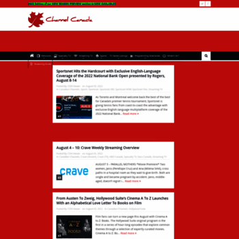 channelcanada com at WI  Channel Canada | Your source for