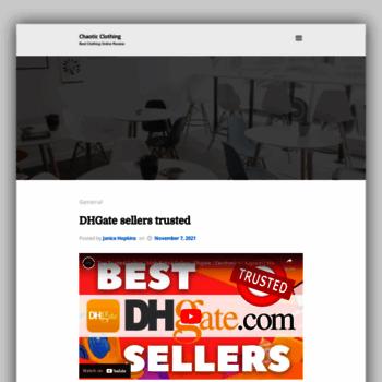 Chaoticclothing.co.uk thumbnail