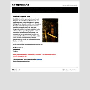 Chapmanblanks.co.uk thumbnail