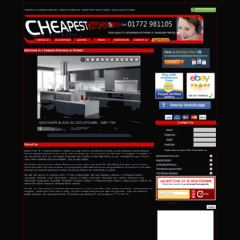 Cheapestkitchensinbritain.co.uk thumbnail
