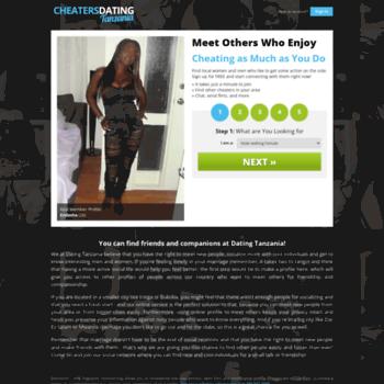dating websites in Tanzania