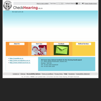 Checkhearing.nic.in thumbnail