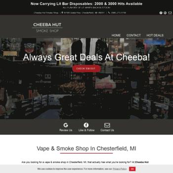 cheebasmokeshopchesterfield com at WI  Smoke Shop