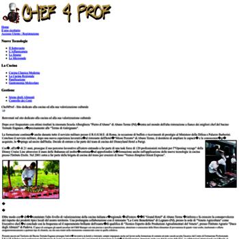 Chef4prof.it thumbnail