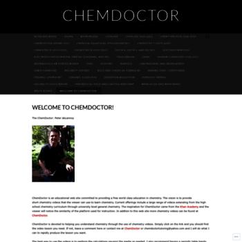 Chemdoctor.org thumbnail