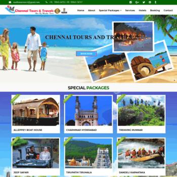 Chennaitourstravels.co.in thumbnail