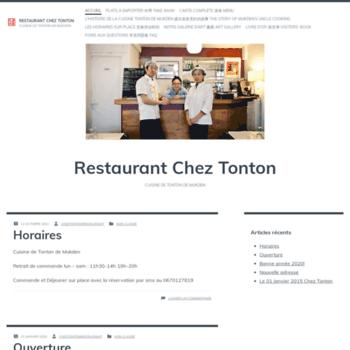 Cheztonton.fr thumbnail