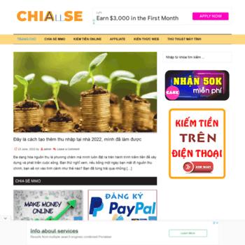 Chiaseall.com thumbnail