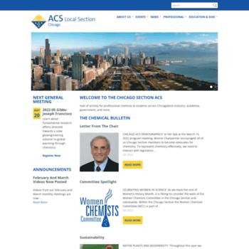 Chicagoacs.org thumbnail