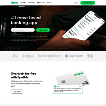 chime com at WI  Chime Banking - No Hidden Fees  Grow Your