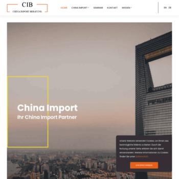 China-import-beratung.de thumbnail