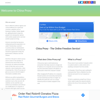 China-proxy.org thumbnail