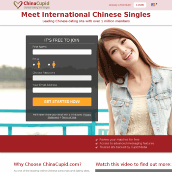 International dating site china