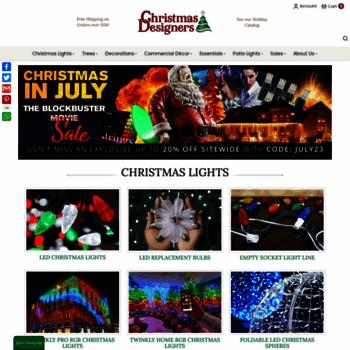 Christmas Designers.Christmasdesigners Com At Wi Led Christmas Lights