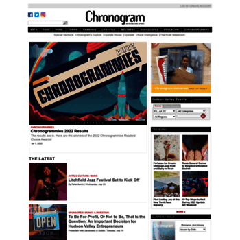 chronogram com at WI  Hudson Valley News & Events