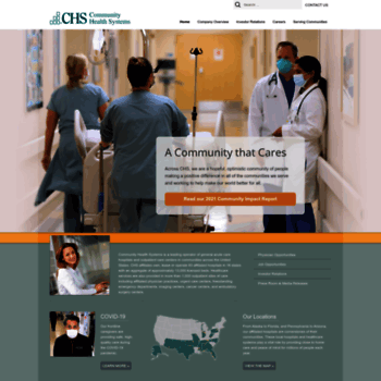 chs net at WI  Community Health Systems (CHS)